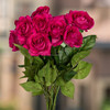 real touch red rose, latex artificial flowers,latest wedding decoration car flower
