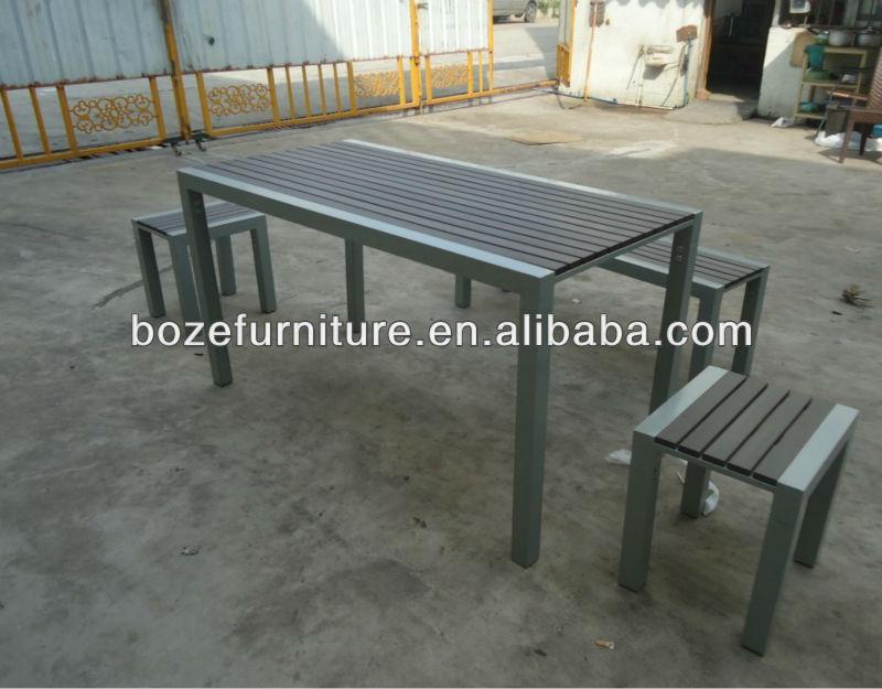 platic holz tisch stuhl gartenmöbel/modern gartenmöbel aus, Garten Ideen