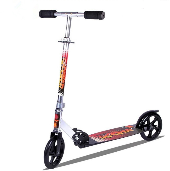 BIGBANG SPORTS adult scooter 200mm Big 2-wheels Adult kick folding scooter cheap sale