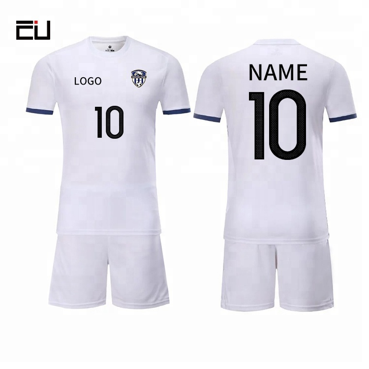 afa4872305c Red White Jersey China Football Set Team Cheap Soccer Uniform For Teams