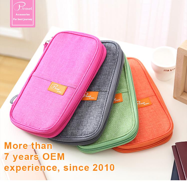 312b1ba00 P.travel new design best quality nylon covers wallets passport holder cases