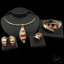 alloy fashion jewelry set artificial bridal jewellery set leaves pendant kundan jewellery sets photos