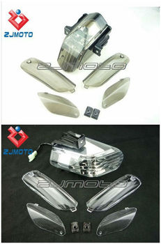 Unique Motorcycle Led Taillight + 4 Turn Lens For Aprilia Rsvr Rsv1000r Rsv  1000 R Tuono Smoked And Clear Color To Choose - Buy Zjmoto