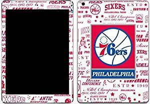NBA Philadelphia 76ers iPad Air Skin - Philadelphia 76ers Historic Blast Vinyl Decal Skin For Your iPad Air