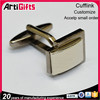 High quality cheap metal cuff links