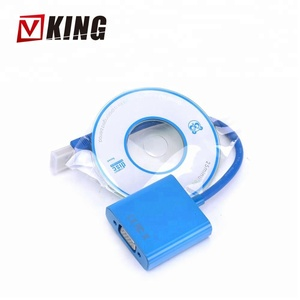 New Arrive USB 3.0 to VGA Multi-display Graphic Converter Adapter Cable 1080P HD