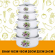 10pcs new enamelware wholesale hot pot set