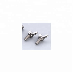 Nuts bolts fasteners custom design DIN316 butterfly wing bolt M5-M10  stainless steel butterfly wing bolts with ISO standard