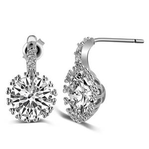China Synthetic Diamond Earring Manufacturers And Suppliers On Alibaba
