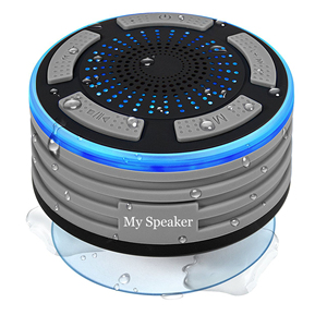 2019 Amazon best seller 5W LED bluetooth speaker waterproof IP67 with FM radio