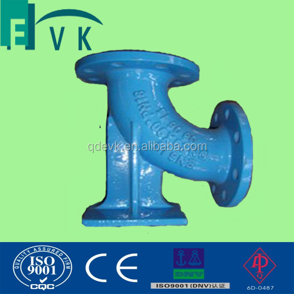 Epoxy coating Flange Ductile iron fitting