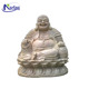 Large outdoor laughing marble buddha statue for sale NTMS-374Y