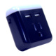 Dual USB Port Travel Wall Charger Home Wall Mounted Plug For iPhone Samsung And More With Switch Night Light