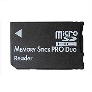 Whitesnowing Micro SD SDHC TF to Memory Stick MS Pro Duo Card Reader PSP Adapter NEW