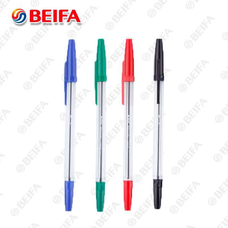 AA944E China Factory Beifa Ball Pen With Cap