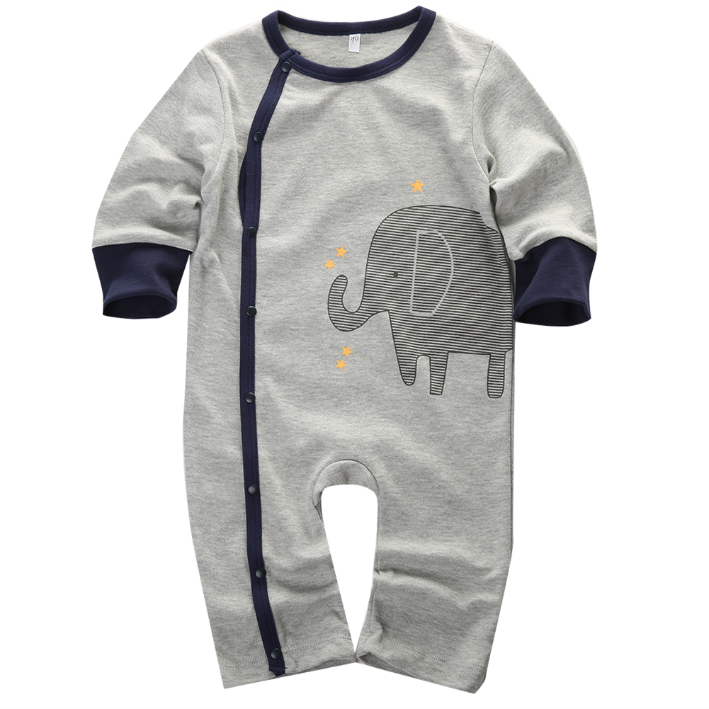 Baby Rompers 2015 Winter Fleece Body Suits Long Pajamas Romper 1pcs Toddler ONE-PIECES Clothes Newborn Good quality