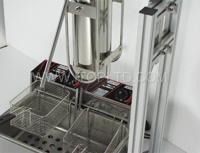 5L churros machine with a 12L electric fryer