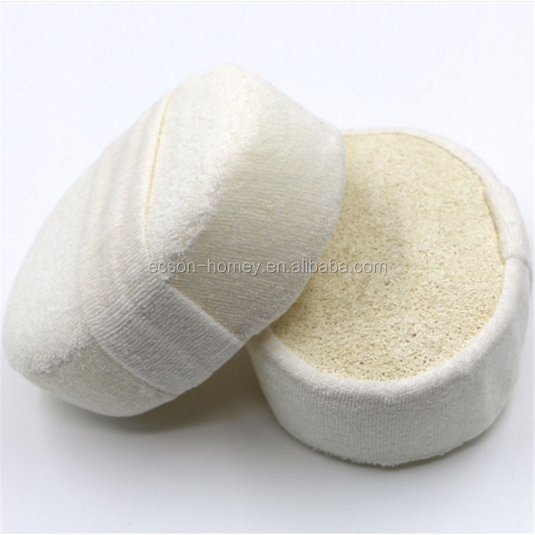 Environmental 100% Natural Oval Shape Loofah Luffa Loofa Face Clean Bath Sponge Wholesale