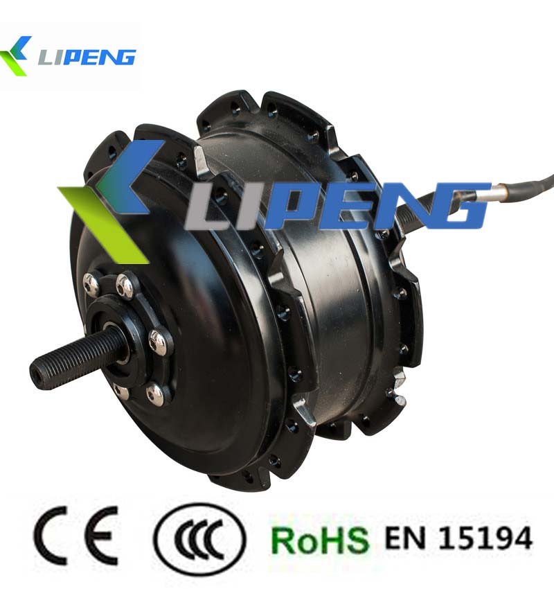 High speed 2014 new brand brushless gear electric bike hub for High speed brushless dc motor