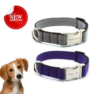 Custom Promotion Pet Products Accessorizes Nylon Dog Collar