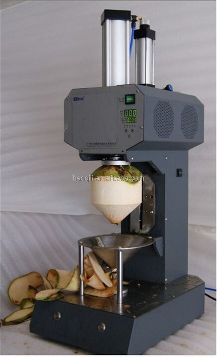 Best Selling High Quality Green Coconut Trimming Machine