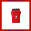 Wholesale High Quality Swing Lid Plastic Room Dustbin