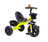 air tire tricycle for kids 2019 good quality children trikes with large seat plastic and mental kids tricycle on sale