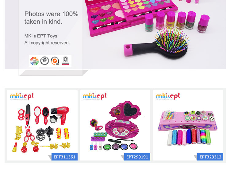 Hot sale the best gift beauty set toy for girls on sale