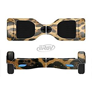The Real Thin Vector Leopard Print Full-Body Wrap Skin Kit for the iiRov HoverBoards and other Scooter (HOVERBOARD NOT INCLUDED)