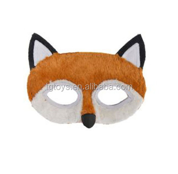 How to make a fox face mask