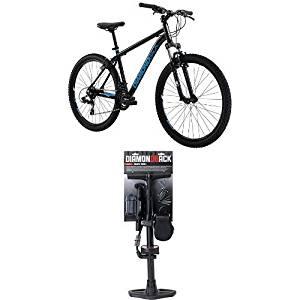 "Diamondback Bicycles Sorrento Hard Tail Complete Mountain Bike, 16""/Small, Black and Diamondback Bicycles Ready 2 Ride Plus Starter Kit"