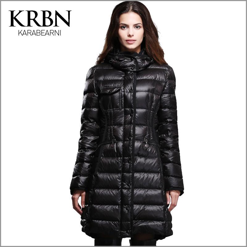 Abajo parkas, parka chaqueta de invierno mujeres ocasional
