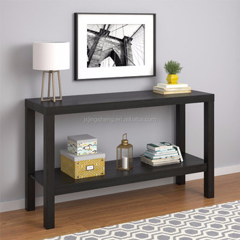 los angeles 2736f 44cf7 Antique Console Table For Living Room Storage Bottom Shelf Black Oak  Entryway Furniture - Buy Console Table,Antique Console Table,Cheap Console  Tables ...