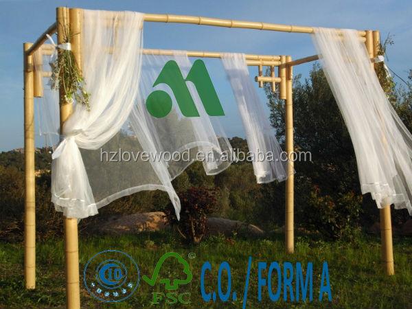 Bamboo Pergola For Wedding/wedding Bamboo Arch/bamboo Arbor/bamboo ...