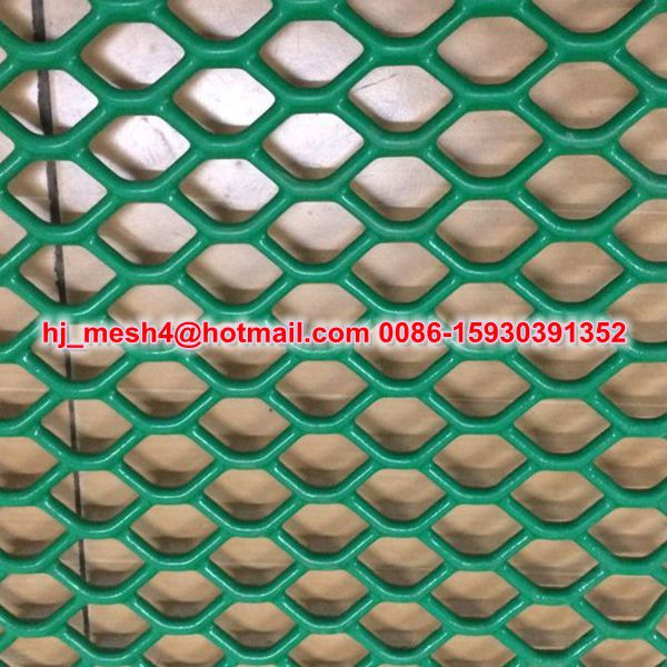 Powder Coating Expanded Metal Plastic Coated Expanded