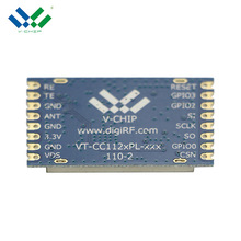 China wholesale 22dbm CC1120 868mhz rf transmitter module for wireless sensor networks