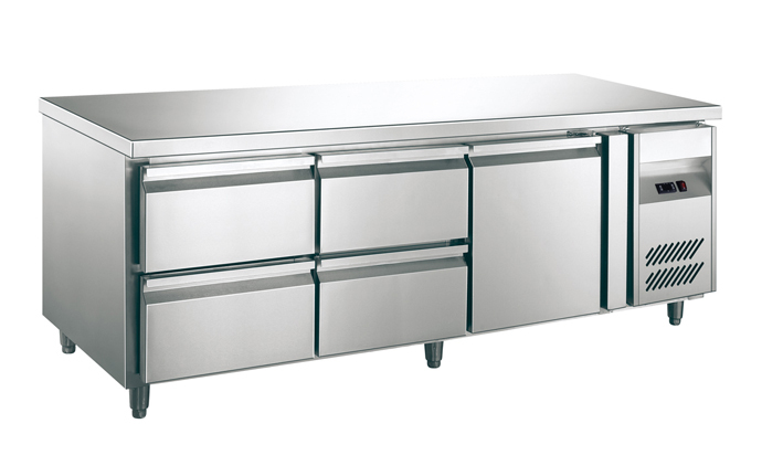 Refrigerated Work table with drawer/undercounter chiller
