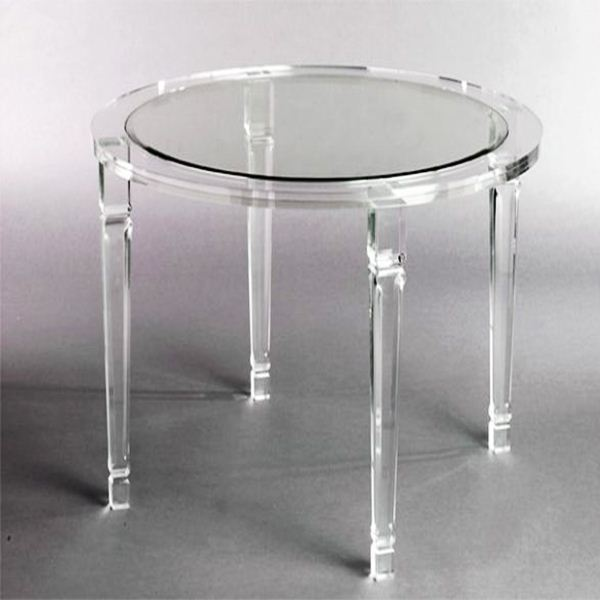 Mode console table en acrylique transparent table de console de luxe table b - Table basse acrylique ...
