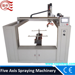 Automatic spray painting robot paint spray machine 5 axis cnc machine
