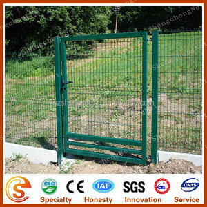 Welded Mesh Single Leaf Gate/Single Swing Fence Gate/Fence Single Gate