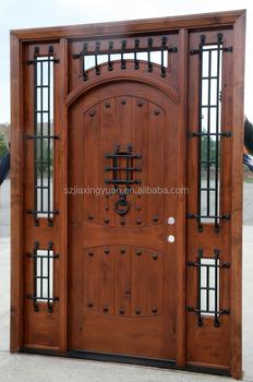 Fancy Double Solid Wood Doors Exterior - Buy Solid Wood Doors ...