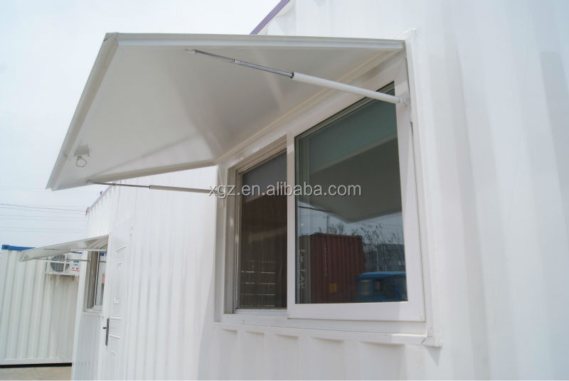 low cost modern 40ft shipping prefab container house with full furniture for sale