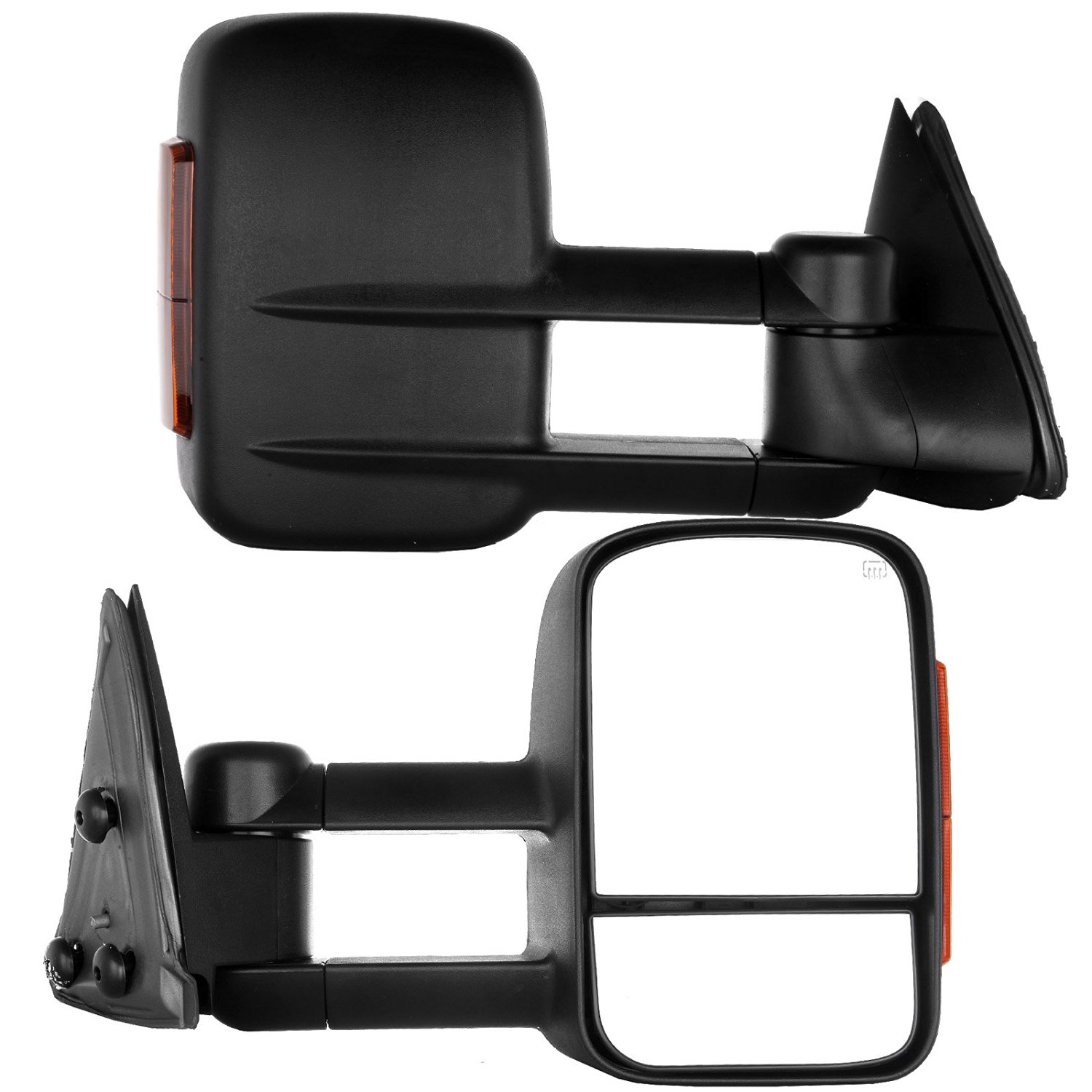 Towing Mirrors 2003-2007 Chevy/GMC Silverado/Sierra Power Heated Signal Side Mirror Pair (04 05 06 models 07 Classic)