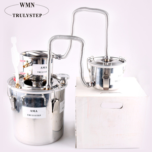 Spirits Boiler 3Pots 3Gal/12Liters Whiskey Still Stainless Steel Boiler Alcohol Distiller