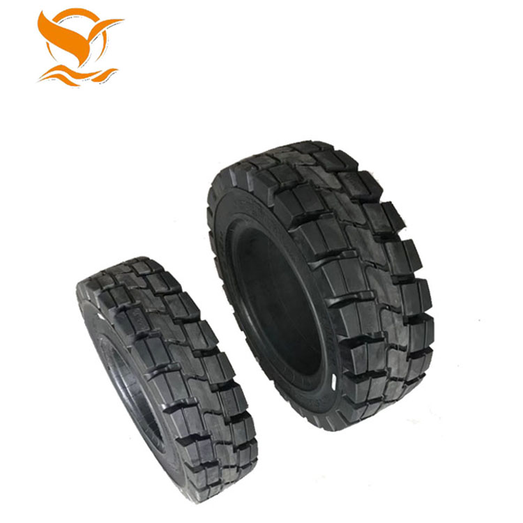 China forklift tyre 825-15 skid steer solid rubber tire manufacturer