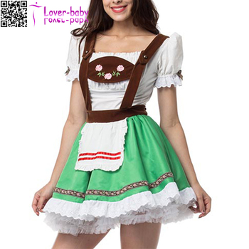 Details about Temptation Beer Girl Oktoberfest sexy costume L15515