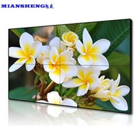 Most popular super narrow bezel 55 inch wall mounted screen wall lcd display screen