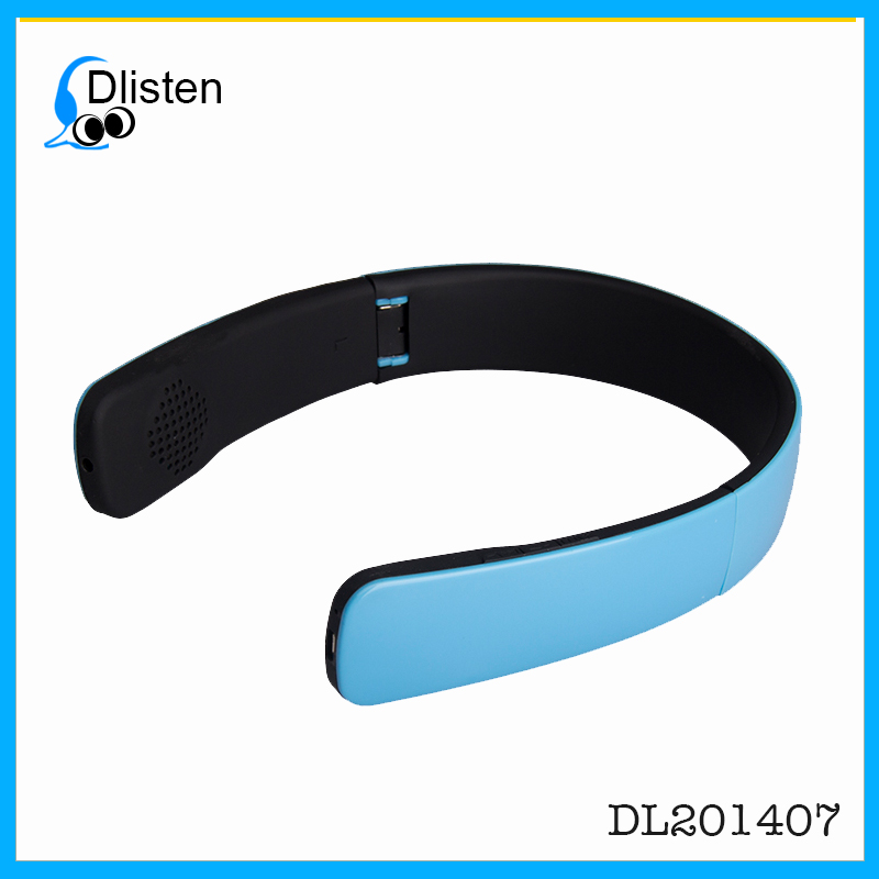 Headband Type Wireless Bluetooth 4.0 Stereo Music Headset Headphones For Two Mobile Phones
