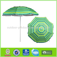 Custom Design Sun and rain Sun protection Aluminum Straight deco umbrella