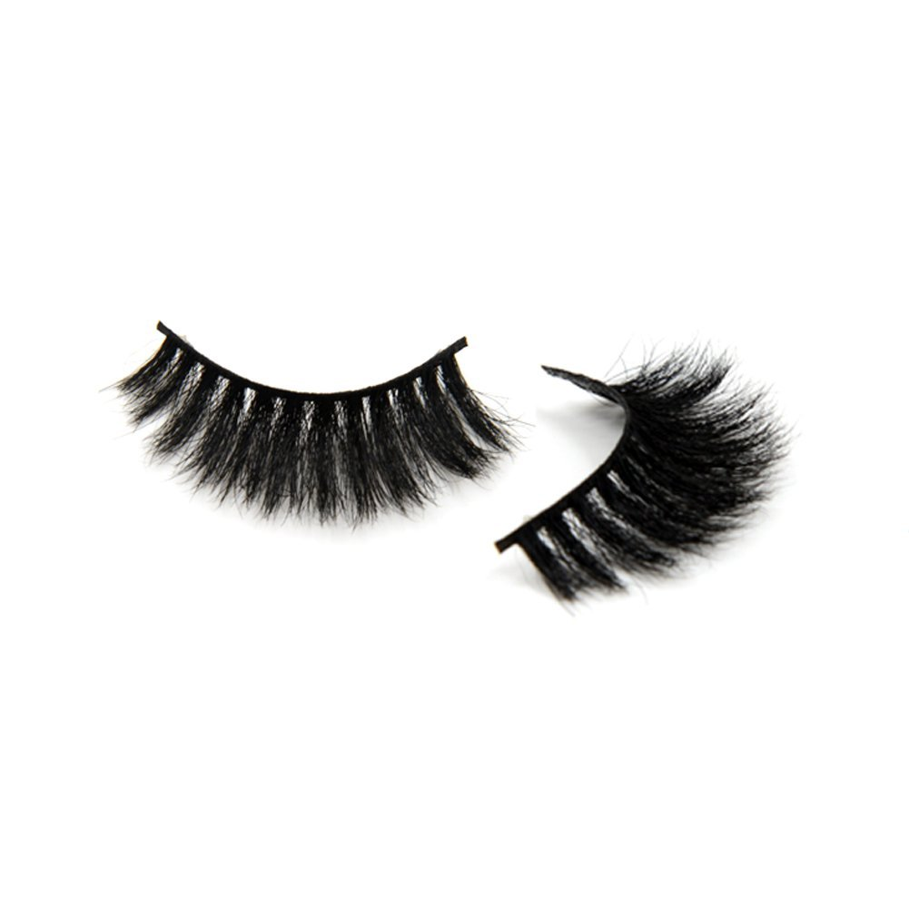 c36e12a49e0 Get Quotations · Arison Lashes Luxury Horse Hair False Eyelashes Thick Horse  Fur Strip Fake Lashes For Women's Makeup